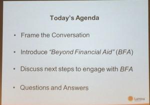 BFA Agenda Slide